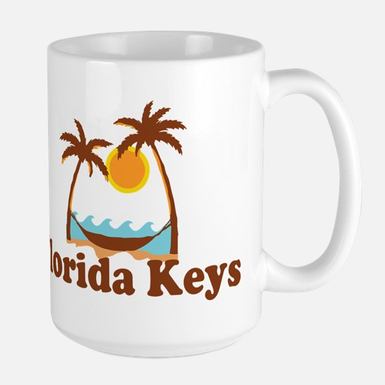 Florida Keys - Palm Trees Design. Mugs