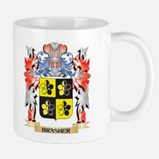 Brasher Coat of Arms - Family Crest Mugs