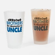 Awesome Brothers Get Promoted to Uncle Drinking Gl