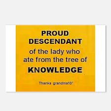Proud Descendant Postcards (Package of 8)