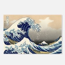 The Great Wave by Hokusai Postcards (Package of 8)