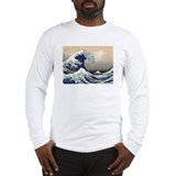 Great wave hokusai Long Sleeve T-shirts