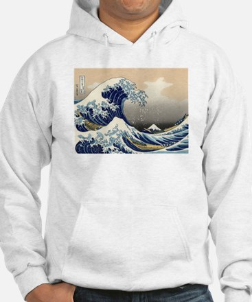 The Great Wave by Hokusai Jumper Hoody