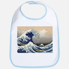 The Great Wave by Hokusai Bib