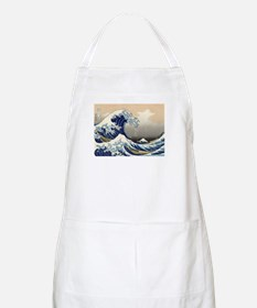 The Great Wave by Hokusai BBQ Apron