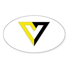 Voluntaryist Oval Decal