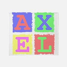 Axel Throw Blanket