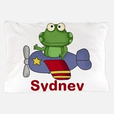 Sydney's Flying Frog Pillow Case