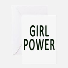 Girl Power Greeting Cards
