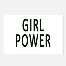 Girl Power Postcards (Package of 8)