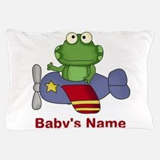 Baby's Flying Frog Pillow Case