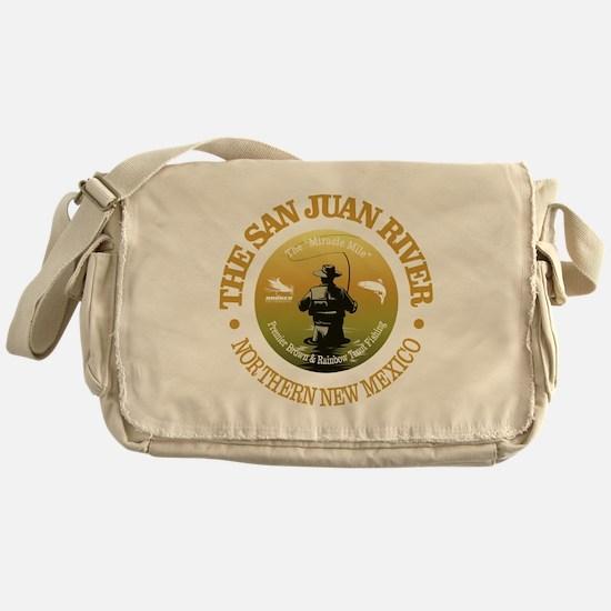 San Juan River Messenger Bag