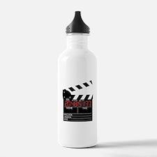 Digital Clapper Board Water Bottle