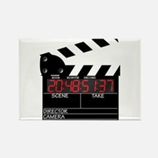 Digital Clapper Board Magnets