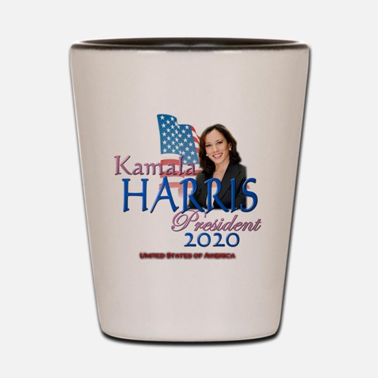 Kamala Harris Shot Glass
