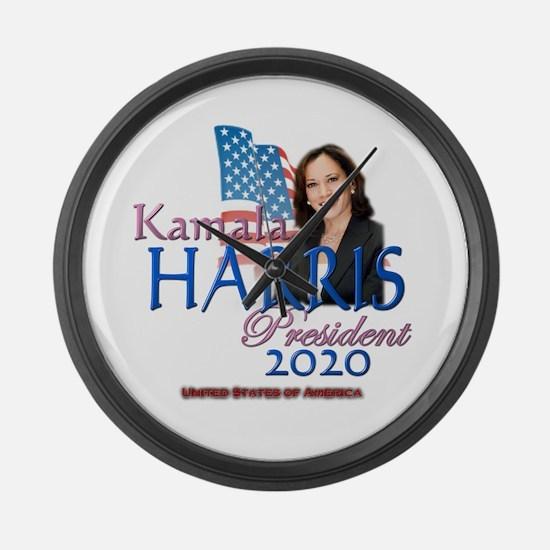 Kamala Harris Large Wall Clock