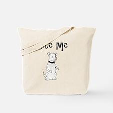 Unique Pitbull Tote Bag