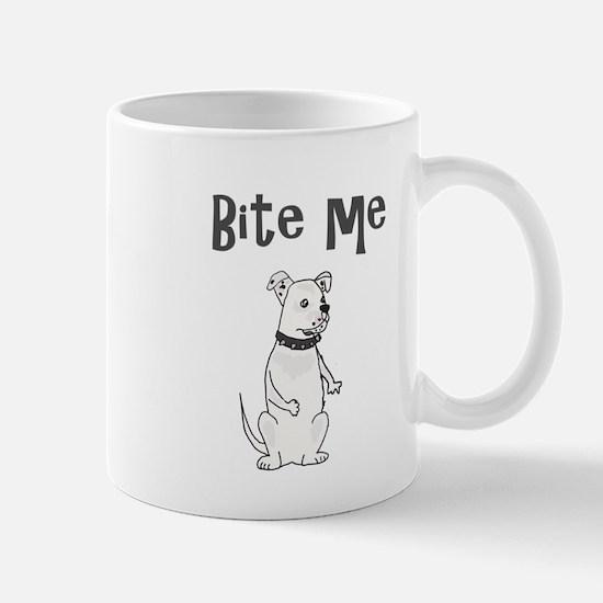 American Bulldog Cartoon Mugs