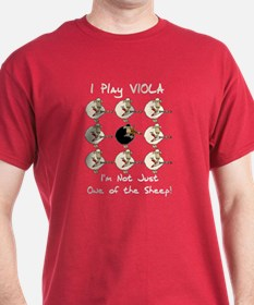 Not Just a Sheep, Viola T-Shirt