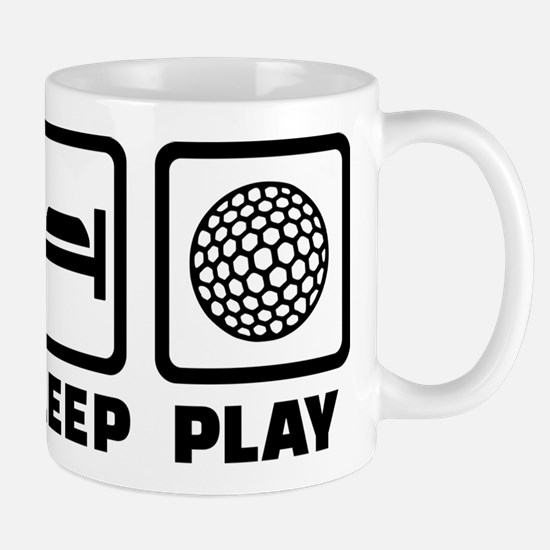 Eat Sleep Play Golf Mugs