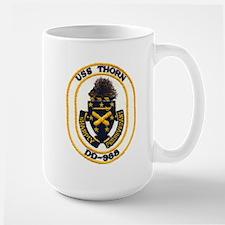USS THORN Mugs