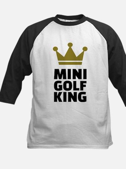Minigolf King Baseball Jersey