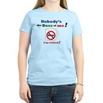 Nobodys the boss of me Women's Light T-Shirt