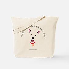 White Schnauzer Tote Bag