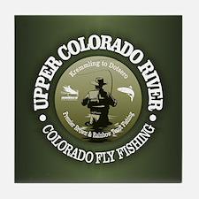 Upper Colorado River Tile Coaster