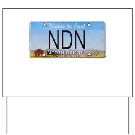North Dakota NDN Pride Yard Sign