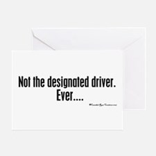 NOT The Driver Greeting Card