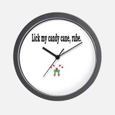 Funny Get a taste of religion lick a witch Wall Clock