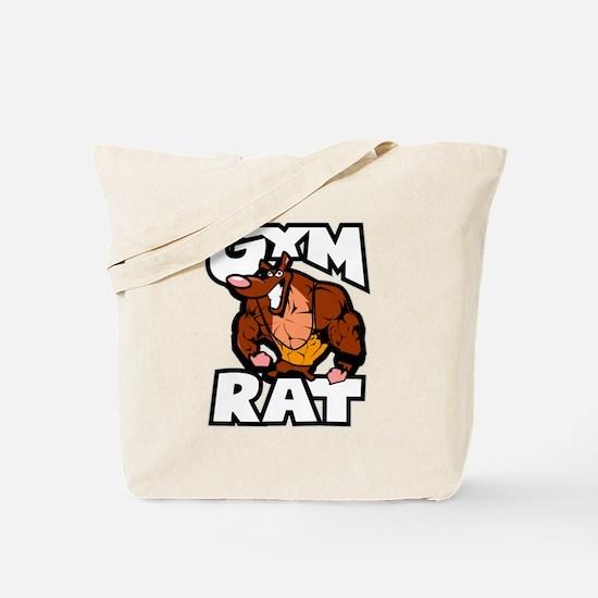 Gym Rat color Tote Bag