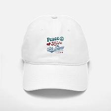 Peace Love & Cloth Diapers Baseball Baseball Baseball Cap