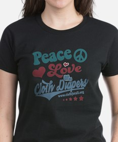 Peace Love & Cloth Diapers T-Shirt