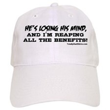 """He's Losing His Mind"" Baseball Cap"