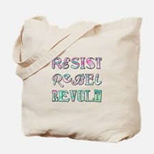 RESIST... Tote Bag