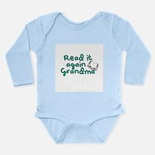 Read it again Grandma Body Suit