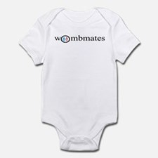 Wombmates (pink/blue) Infant Creeper