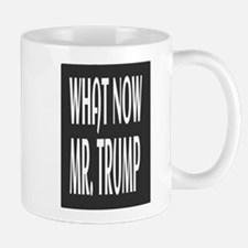 WHAT NOW MR.TRUMP Mugs
