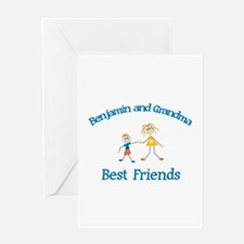Benjamin & Grandma - Best Fri Greeting Card