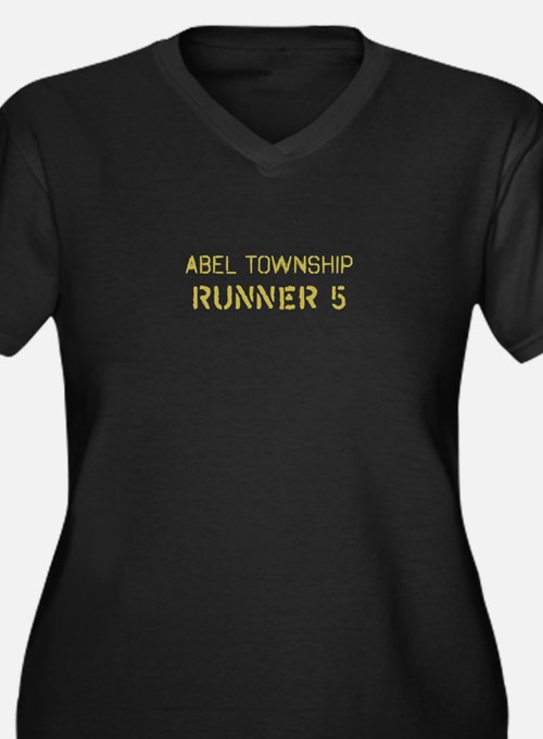 Able Township Runner 5 Plus Size T-Shirt