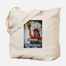 Funny Protest Tote Bag