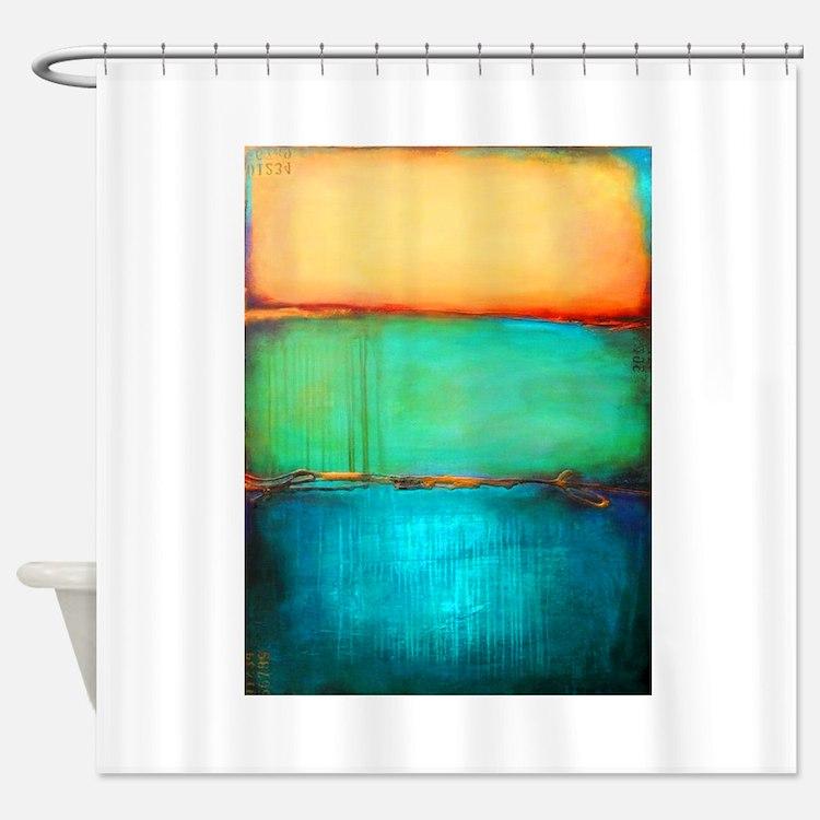 Rothko Shower Curtains