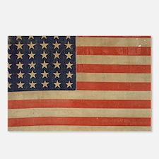 Vintage U.S. Flag (36 Star) Postcards (Package of