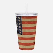 Vintage U.S. Flag (36 Star) Acrylic Double-wall Tu