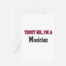 Trust Me I'm a Musician Greeting Cards (Pk of 10)