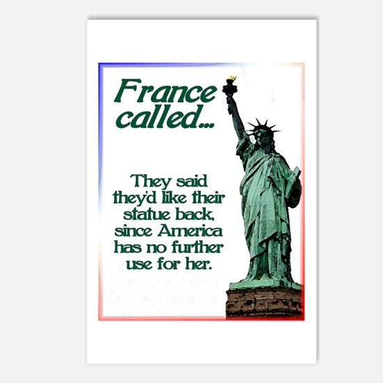 France Called Postcards (Package of 8)
