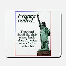 France Called Mousepad