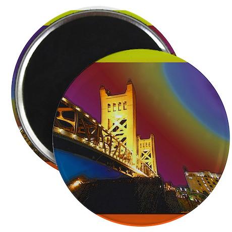 Sacramento bridge Magnet